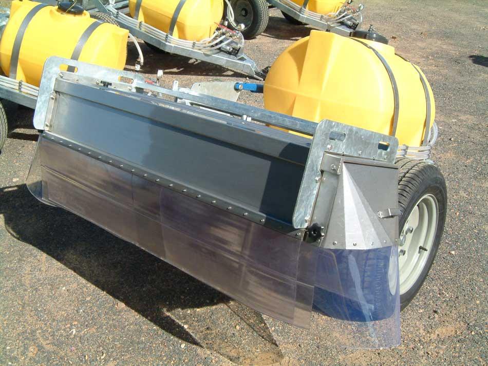 Custom Manufactured Spray Equipment Made From Galvanised